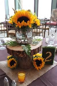 Sunflower Wedding Centerpieces Ideas