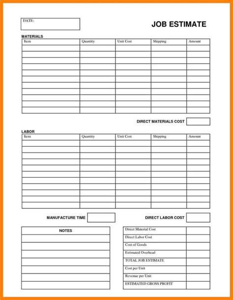 simple job costing spreadsheet spreadsheet downloa simple