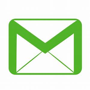 Communication email green Icon | Metronome Iconset ...