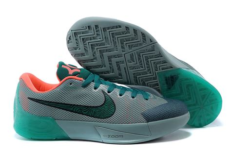 nike kd trey  ii flywire grey green orange shoes order