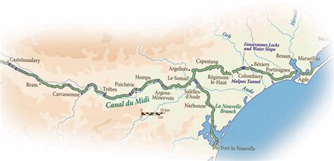 canal du midi cruises  european waterways european