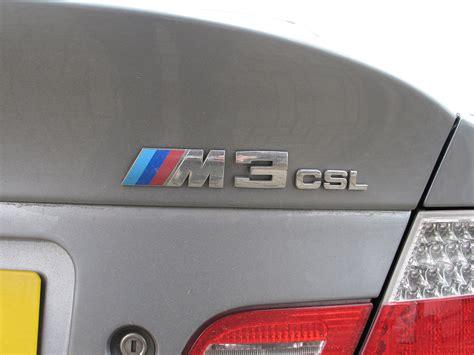 Bmw M3 Csl E46 Writing