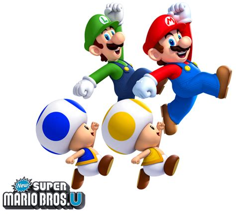New Super Mario Bros U The Four Heroes By Legend Tony980