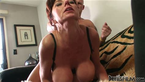 Busty Mature Woman Gets Fucked From Behind And In Sideways