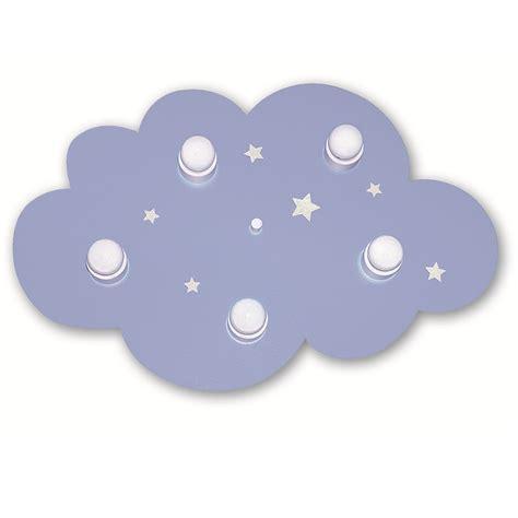 Kinderzimmer Mädchen Hellblau by Kinderzimmer Deckenleuchte Wolke In Hellblau 5 Flg