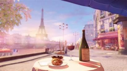 Paris Wallpapers Eiffel Tower Anime 3d Backgrounds