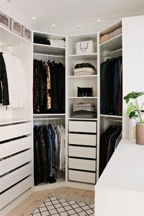 Brilliant Ikea Closets Throughout Best 25 Corner Wardrobe