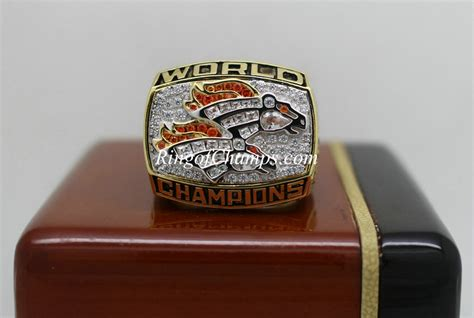 1998 Super Bowl Xxxiii Denver Broncos Championship Ring