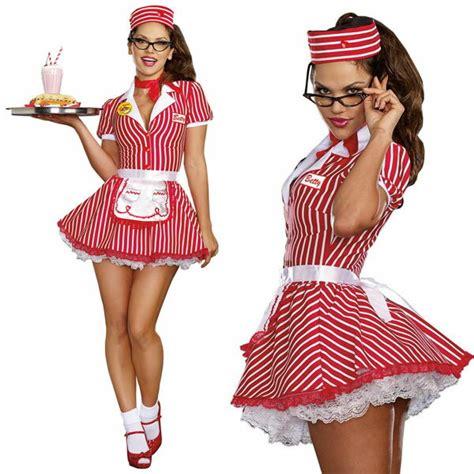 Acomes | Rakuten Global Market 50u0026#39;s fifties diner restaurant waitress costume ladies retro ...