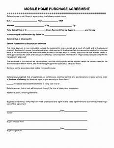 10 best images of home purchase agreement template With house sales contract template