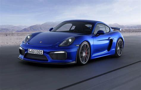 porsche cayman blue porsche cayman gt4 revealed as quick as 997 911 gt3