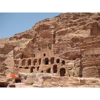 The Ancient City Of Petra JordanPetraTraveling Through