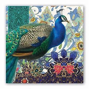 Peacock, Paper, Napkins, By, Michel, Design, Works, U2013, Tazzie, Baby, U0026, Child