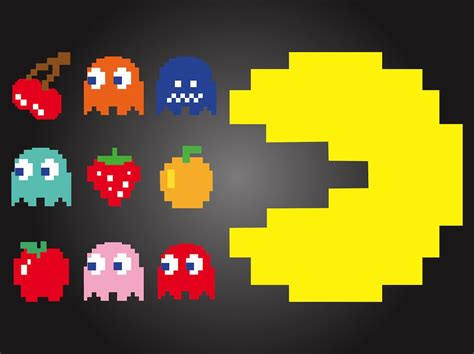 Pac Man On Pinterest Ghosts Crochet Blankets And Blankets
