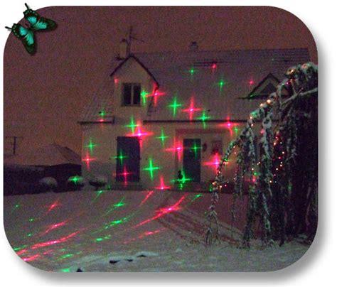 mini laser decoration de noel exterieur projecteur d images en fa 231 ade de maison ebay