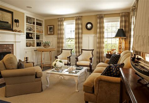 traditional home interiors living rooms sumptuous buffalo check curtains in living room traditional with board and batten walls to