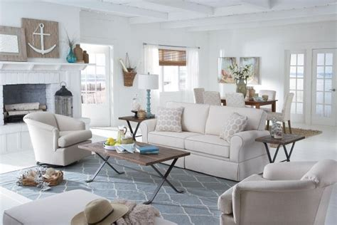 cottage living rooms skirted sofas when and how to choose them Coastal