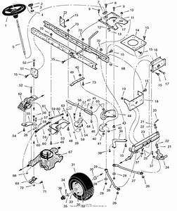 Craftsman Lawn Mower Engine Parts Diagram