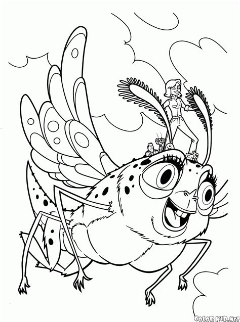 coloring page monsters  aliens