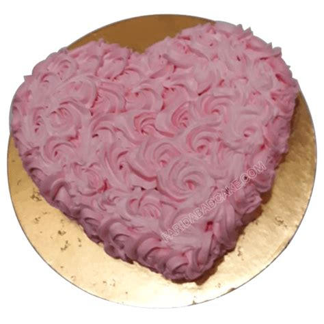 kg heart shaped strawberry cake    delivery