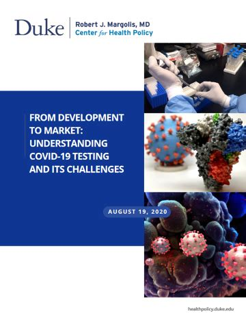 From Development to Market: Understanding COVID-19 Testing ...