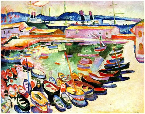 Tugboat On The Seine Chatou by History News Matisse And Friends Selected