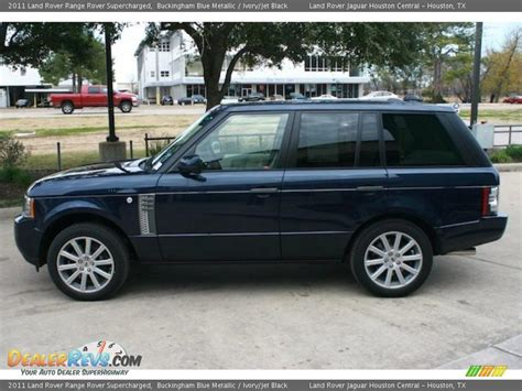 range rover dark blue 2011 land rover range rover supercharged buckingham blue