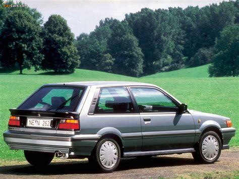 Nissan Sunny 3-door Hatchback (N13) 1986–90 photos (1024x768)