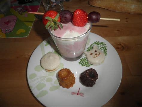 glace souple 224 la cr 232 me aux fruits sorbet et parfait