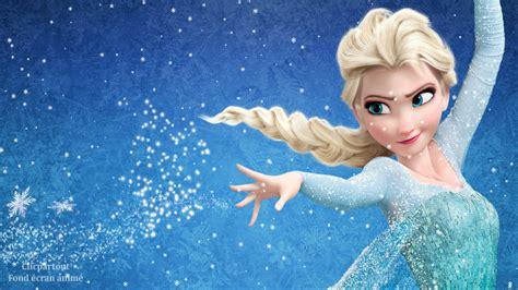 bureau enfants but fond écran animé screensaver reine des neiges