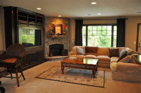 Living Room Design Ideas With Corner Fireplace by 17 Ravishing Living Room Designs With Corner Fireplace