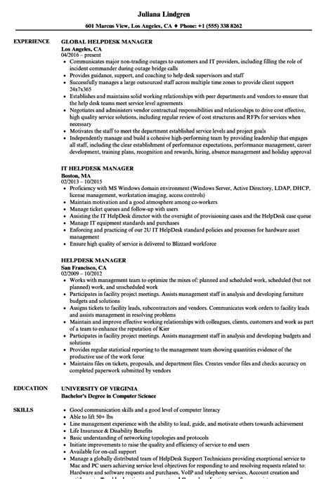 help desk manager salary service desk manager job description hostgarcia