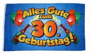 30 Dinge Zum 30 Geburtstag : fahne flagge alles gute zum 30 geburtstag blau feste anl sse fun sonstiges fahnenwelt ~ Bigdaddyawards.com Haus und Dekorationen