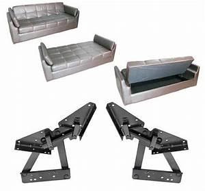 Furniture hardware sofa hinge type click clack mechanism for Click clack sofa bed mechanism