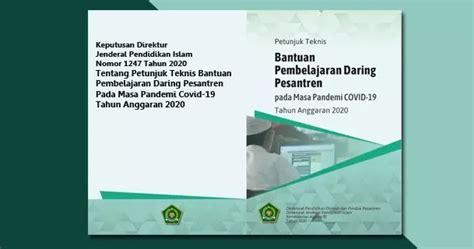 Silabus fisika smk kelas xi. Juknis Bantuan Pembelajaran Daring Pesantren pada Masa Pandemi COVID-19 Tahun Anggaran 2020 ...