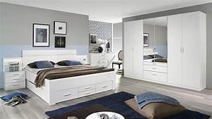 Bett Mit Stauraum 180x200 : bett friedberg schlafzimmerbett in wei 180x200 cm ~ Frokenaadalensverden.com Haus und Dekorationen