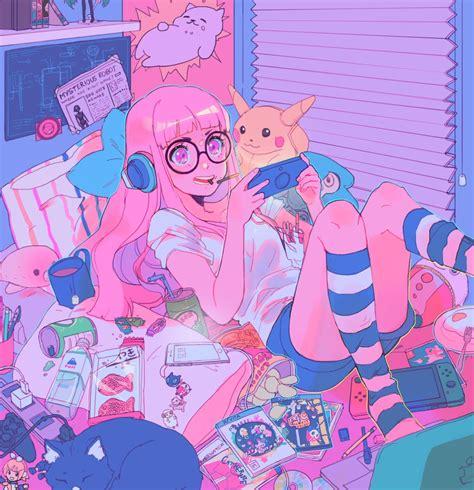 🖤 Aesthetic Anime Pfp Pink 2021