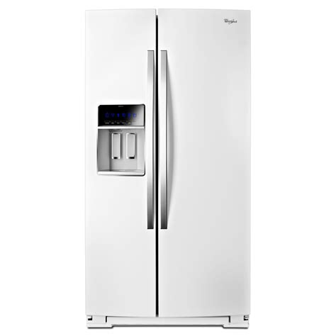 Counter Depth Refrigerator Dimensions Sears by Whirlpool Wrs965ciah 24 5 Cu Ft Counter Depth Side By
