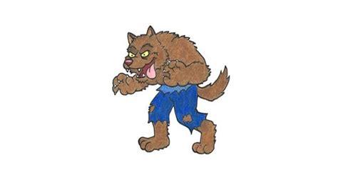 draw  cartoon werewolf    draw