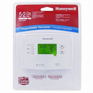 Thermostat Compatibility Chart Honeywell Rth2300b1012 U 5 2 Day Programmable Thermostat