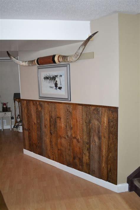 barn board wainscoting ranch house decor wainscoting