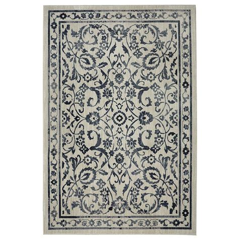 home depot area rugs 8x10 mohawk home bancroft beige 8 ft x 10 ft area rug 000187