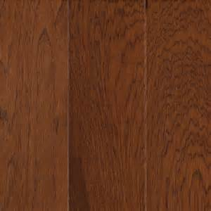 shop allen roth 0 375 in hickory locking hardwood flooring sle warm cherry at lowes com