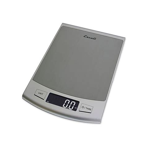 escali passo high capacity digital kitchen scale bed