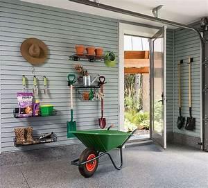 Rangement Outils Garage : rangement malin pour outils de jardinage 24 id es pratiques ~ Melissatoandfro.com Idées de Décoration