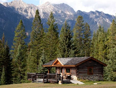 cabin in the mountains our log cabins nipika mountain resort accommodation