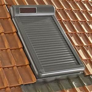 Velux 78x98 Avec Volet Roulant : volet roulant velux electrique ou solaire ~ Melissatoandfro.com Idées de Décoration