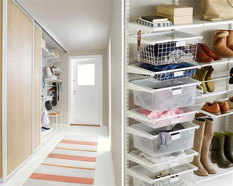 Getting Crowded In The Hall? Shallow Drawers Are The Solution