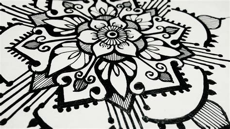 how to draw designs how to draw mandala designs beautiful henna