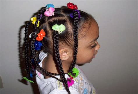 10 Cute Black Kids Hairstyles